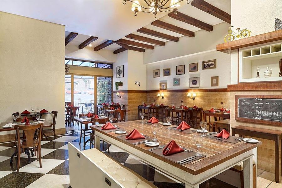 Restaurante Bistro Hotel Sheraton Porto Alegre Bistro
